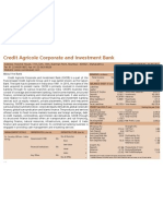 Profile-Foreign Banks-Credit Agricole Corporate and Investment Bank