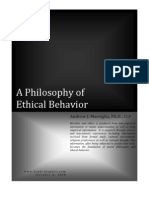 A Philosophy of Ethical Behavior