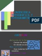 INGENIERIA TOPOGRÁFICA Y FOTOGRAMETRICA