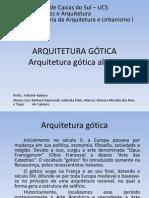 A Arquitetura Gotica