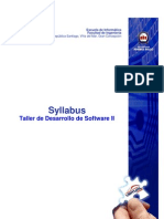 Syllabus Taller II Jul09