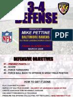 2005 BAL Ravens Defensive Presentation