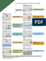 2010-11 Eastmont Calendar