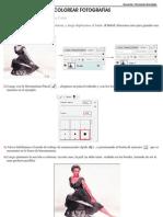 Colorear Fotografias -Photoshop