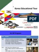 Korea Educational Tour Ppt