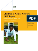 Children & Nature Network Movement Report 2010