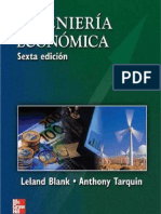 Ingenieria Economic A. Tarquin 6 Edicion