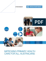 Improving Primary Health Care for All Australians