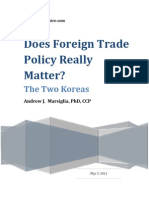 Does Foreign Trade Policy Matter