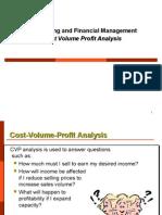 AFM CVP Analysis
