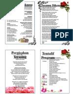 Buku Program Majlis Persaraan Guru Besar SK Methodist