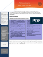 Service Capability Document - Auditory Services