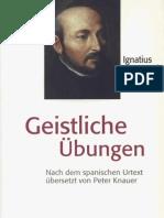 Ignatius von Loyola - Geistliche Uebungen