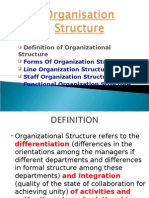 Forms of Project Oraganization