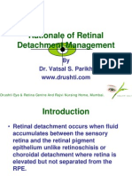 19 Rationale of Retinal Detachment Management
