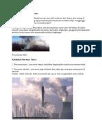 Pengertian Pencemaran Udara
