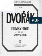 Dvorak Op90 Klaviertrio Nr4 Dumky Pi4h