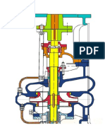 Cut View of Pump