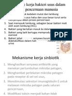 Mekanisme Kerja Pre & Probiotik