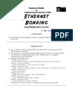 A TechXpress Guide Ethernet Bonding for NICs