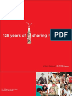 Coca-Cola 125 Years Booklet