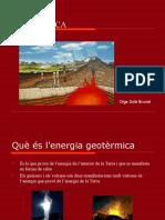 Energia Geotèrmica. Olga Solé