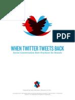 When Twitter Talks Back