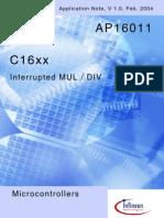 Ap1601110 Interrupted MUL