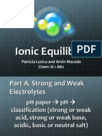Expt 4 IONIC EQUILIBRIA