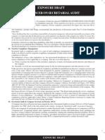 Exposure Draft Referencer on Secretarial Audit
