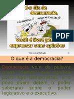 O que é a democracia