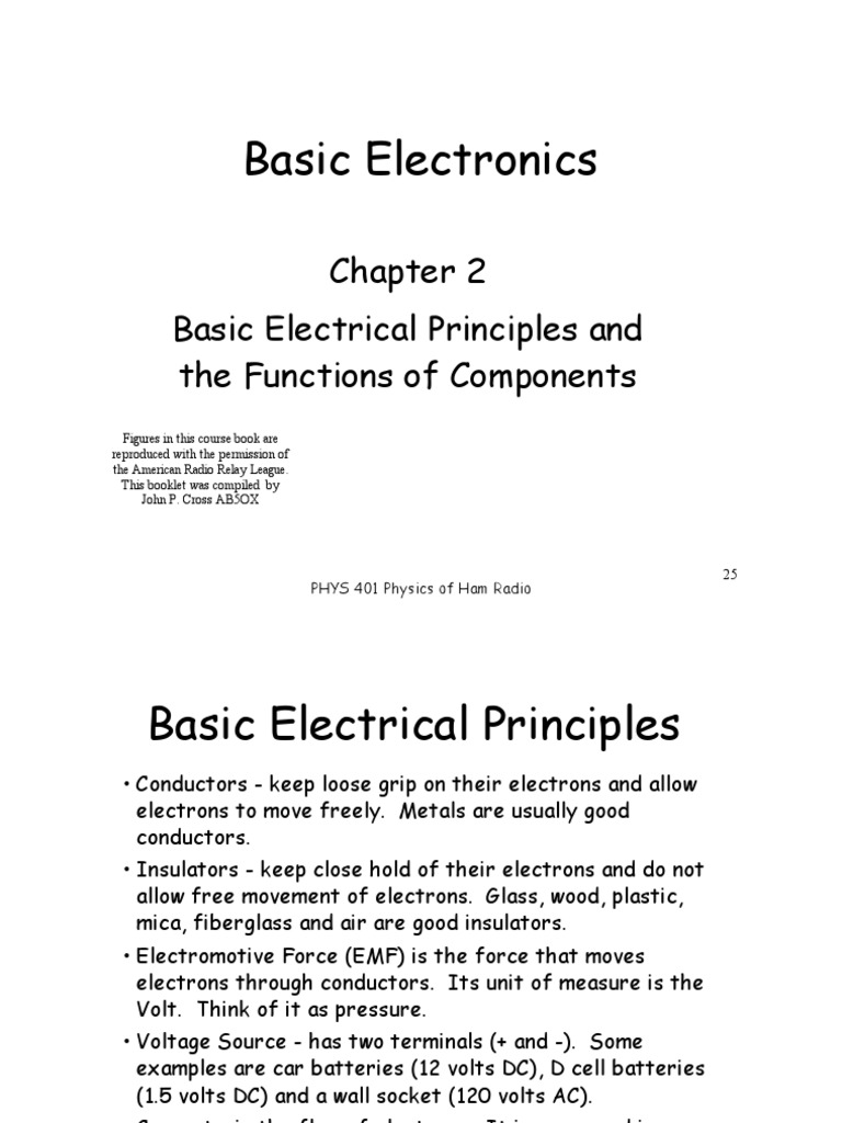 Electrical Principles for General Class Ham License - Medo's Home.