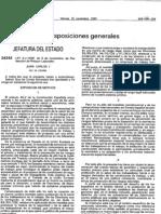 Ley 31 1995 de 8 de noviembre de Prevención de Riesgos LAborales