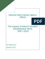 The Impact of NALA's Student Development Work 2007-2010