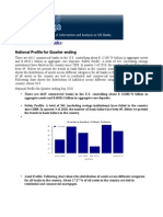 US Commercial Banks Financial Analysis