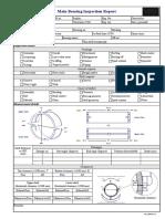 Main Beaaring Inspection Report