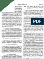 Real Decreto 486 1997, de 14 de abril, por el que se establecen las disposiciones mínimas de seguridad y salud en los lugares de trabajo