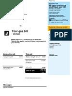 Online Digital Bill