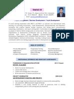 Program Officer CV