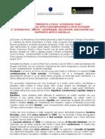 """Unicredit presenta a Pavia """"Acrobazie"""", un confronto tra arte contemporanea e arte outsider"""