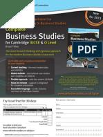 Complete Business Studies for Cambridge IGCSE