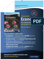 Complete Economics for Cambridge IGCSE - new edition!