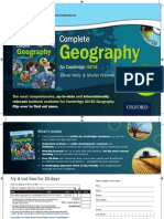 NEW - Complete Geography for Cambridge IGCSE