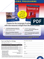 New Course Companions for the Language B syllabus change