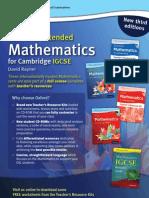 Rayner's Core & Extended Mathematics for Cambridge IGCSE