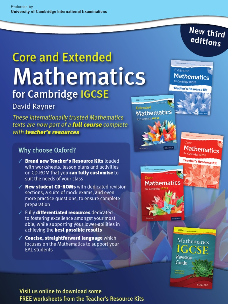 Rayners core extended mathematics for cambridge igcse speed rayners core extended mathematics for cambridge igcse speed test assessment fandeluxe Image collections