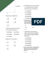 soal matematika dan kunci jawaban