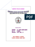 Karya Ilmiah a. Nur Zam-Zam