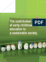 ECCE and Sustainable Development