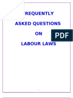 Faqs on Labour Laws Handbook
